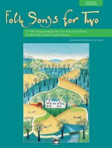 Folk Songs For Two (Bk/Cd)
