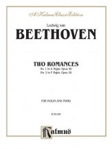 Beethoven: Two Romances, Op. 40 and 50