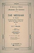 Messiah (Full Vocal Score)