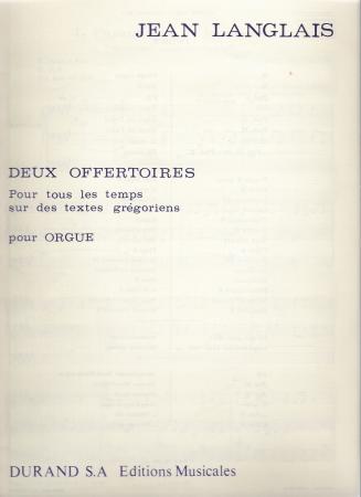 DEUX OFFERTEORES