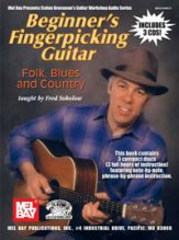 Beginner's Fingerpicking Guitar Folk Bl