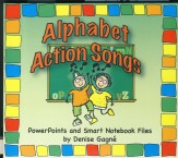 Alphabet Action Songs Digital Resource