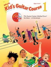 Kid's Guitar Course Bk 1 Bk/CD/Dvd