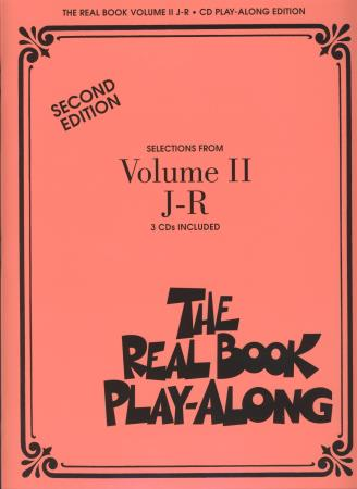 Real Book Play Along Vol 2 J-R (3 Cds)