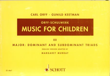 Music For Children Vol 3