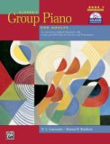 Group Piano For Adults Bk 1, Bk/Cdrom