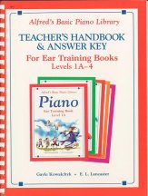 Ear Training Teacher's Handbk Lev 1a-4