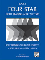 Four Star Sight Reading and Ear Tests 6