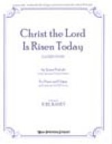 Christ The Lord Is Risen Today (One Copy