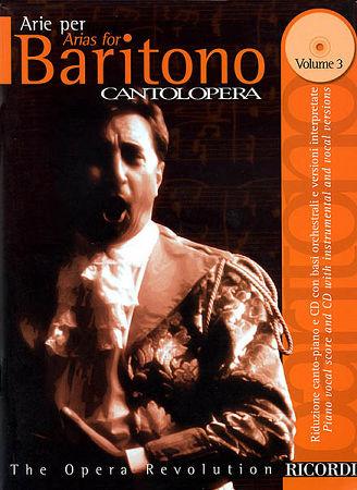 ARIAS FOR BARITONE VOL 3 (BK/CD)
