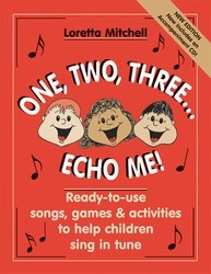ONE TWO THREE ECHO ME (BK/CD)