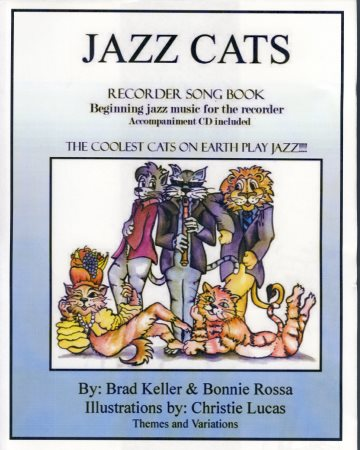 JAZZ CATS RECORDER (BK/CD)