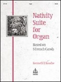 Nativity Suite For Organ