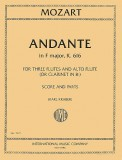 Andante In F Major K616