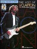 Best of Eric Clapton, The (Bk/Cd)