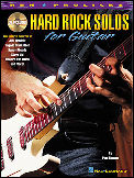 Hard Rock Solos For Guitar (Bk/Cd)