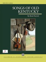 Songs of Old Kentucky: 1st B-flat Clarinet