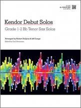 LANGE - Kendor Debut Solos - Bb Tenor Sax