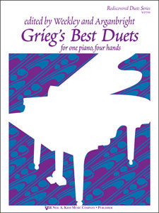Grieg's Best Duets For Piano 4 Hands