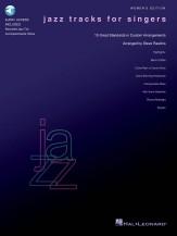 JAZZ TRACKS FOR SINGERS (WOMEN) (BK/CD)