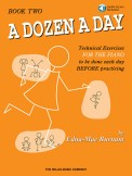 A Dozen A Day Bk 2 (Bk/Cd)