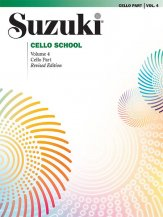 Suzuki Cello School 4 Revised