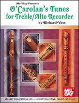 O'Carolan's Tunes For Treble/Alto Recor