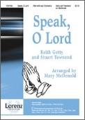 Speak O Lord