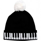 Winter Hat: Keyboard Tassel