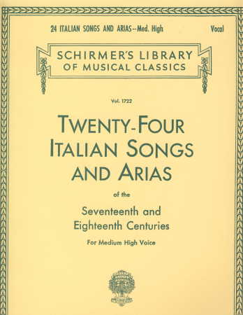 24 ITALIAN SONGS AND ARIAS (BOOK)