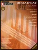 Jazz Play Along V076 Broadway Ballads