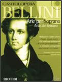 Bellini Arias For Soprano (Bk/Cd)