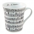 Mug: Music On White