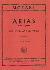ARIAS FROM OPERAS VOL 1