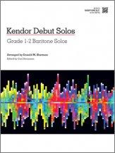 Various - Kendor Debut Solos - Baritone B.C.