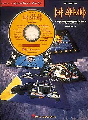 The Best Of Def Leppard (Bk/Cd)