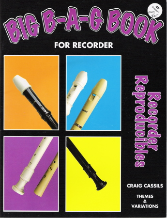 Big Bag Book For Recorder