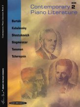 Contemporary Piano Literature Bk 2