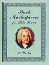Bach Masterpieces For Solo Piano