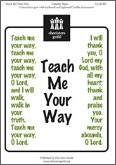 Teach Me Your Way