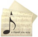 Boxed Note Cards: A Thank You Note