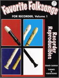 Favorite Folksongs For Recorder Vol 1