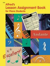 Lesson Assignment Book For Piano Student