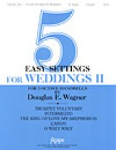 Five Easy Settings For Weddings II
