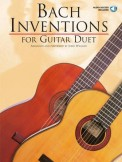 Bach Inventions For Guitar Duet (Bk/Cd)