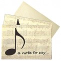 Boxed Note Cards: A Note To Say