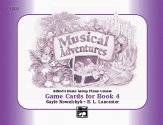 Musical Adventures Game Cards Bk 4