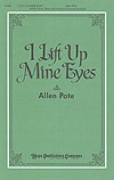 i lift up mine eyes allen pote pdf