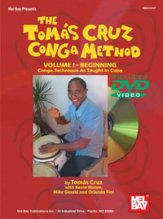 Tomas Cruz Conga Method Vol 1 (Bk/Dvd)