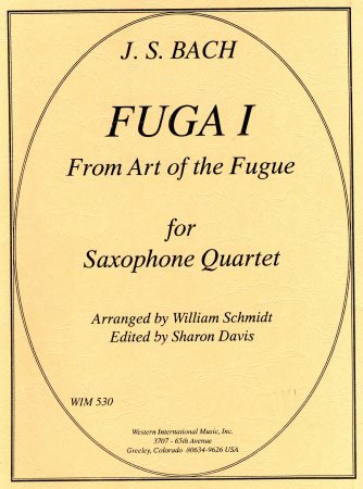 Fuga I From Art of The Fugue